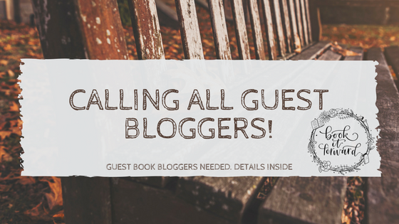 Calling All Guest bloggers!